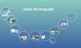 Tipos De Lenguaje By Wendy S Juarez Quezada