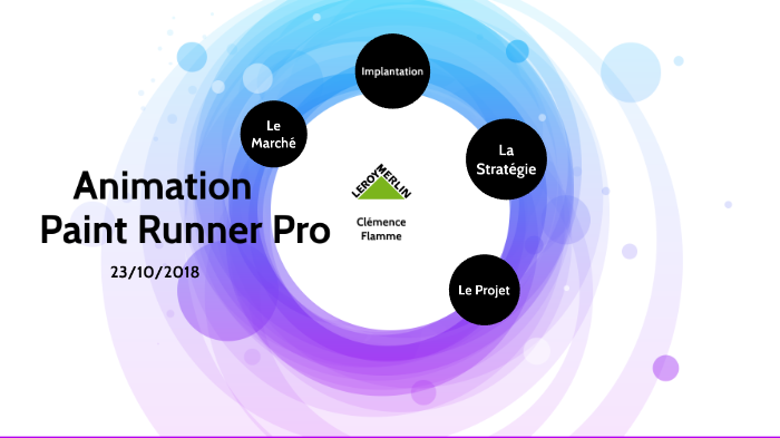 Paint Runner Pro Leroy Merlin By Clémence Flamme On Prezi Next