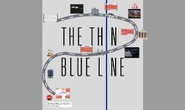 Free Thin Blue Line Powerpoint Template Prezi