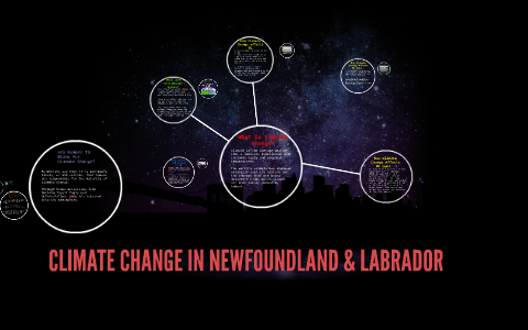 CLIMATE CHANGE IN NEWFOUNDLAND & LABRADOR by chris wells ...