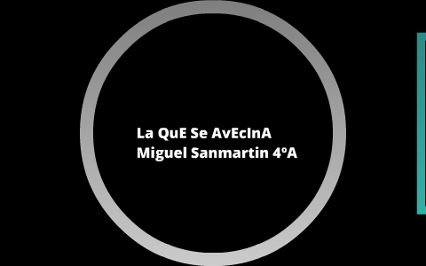 La Que Se Avecina By Miguel Sanma On Prezi