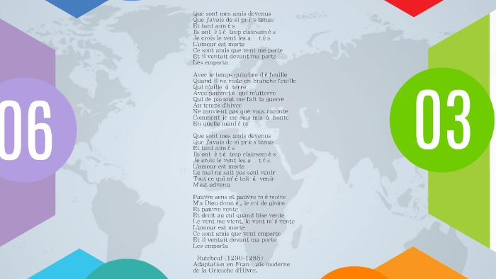 Rutebeuf Que Sont Mes Amis Devenus By Gabrielle Trepanier