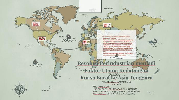 Revolusi Perindustrian Menjadi Faktor Utama Kedatangan Kuasa By Sya Kira