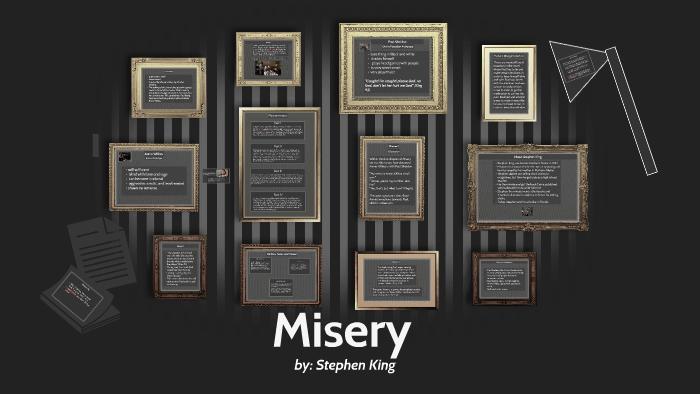 misery novel summary