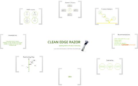 clean edge razor