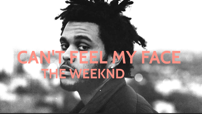 the weeknd - cant feel my face übersetzung