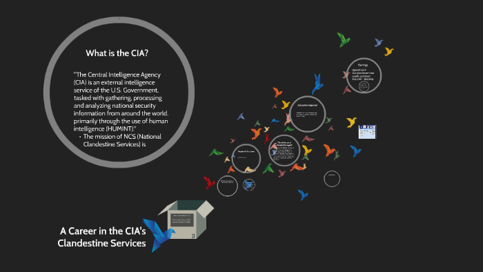 A Career in the CIA's Clandestine Services by Safir Santiago on Prezi