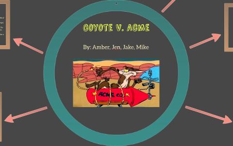 coyote vs acme