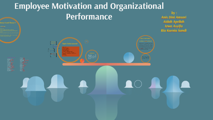 Employee Motivation And Organizational Performance By Anis