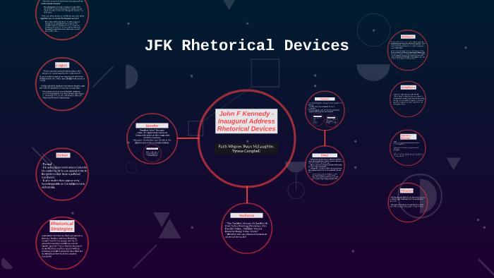 jfk inaugural speech rhetorical analysis