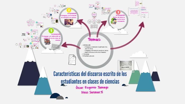 Características Del Discurso Escrito De Los Estudiantes En