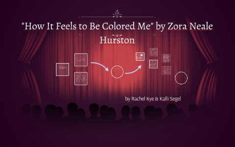 what it feels to be colored me