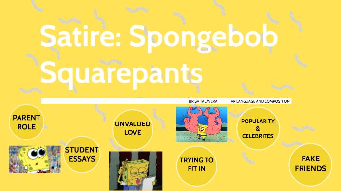 Satire Spongebob Squarepants By Brisa Talavera On Prezi Next
