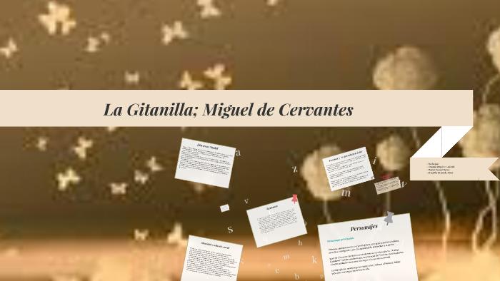 La Gitanilla Miguel De Cervantes By Arantxa Ramírez Andrade