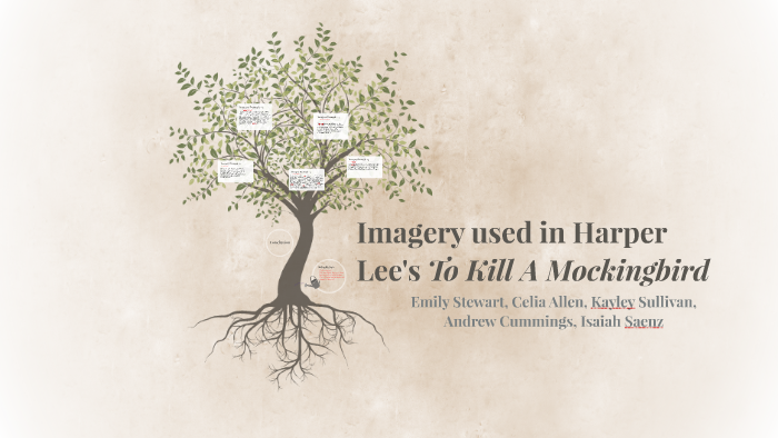 Imagery used in Harper Lees's To Kill A Mockingbird by Emily