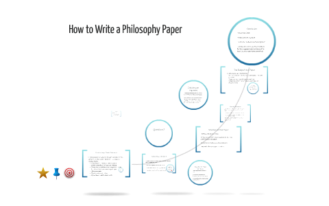 writing a good philosophy paper