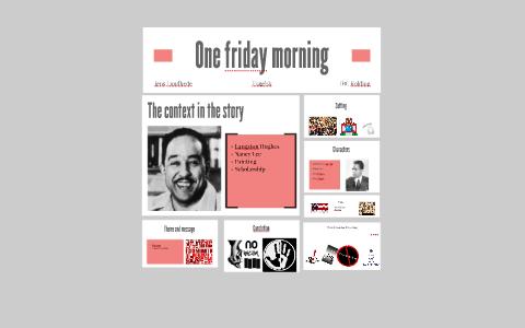 one friday morning story