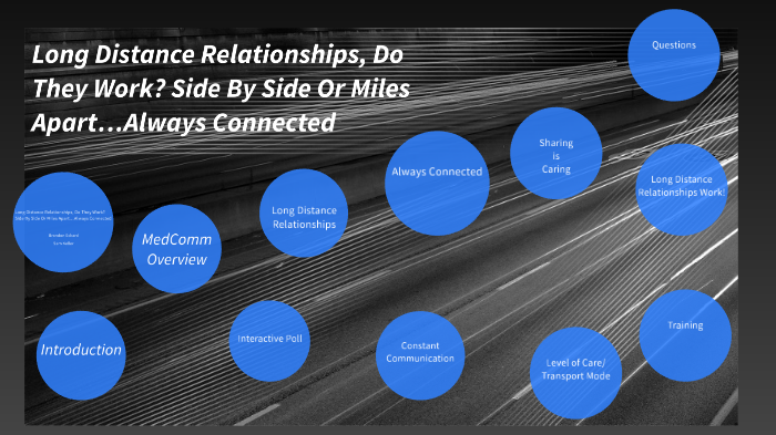 Long Distance Relationships, Do They Work? Side By Side Or Miles