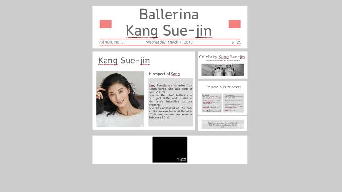 Ballerina Kang Sue jin by 승은 한 on Prezi