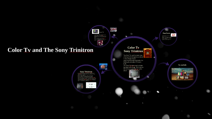 Color Tv and The Sony Trinitron by on Prezi