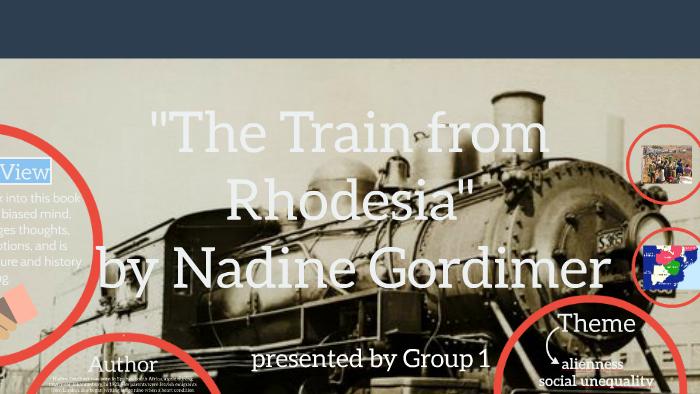 the train from rhodesia summary