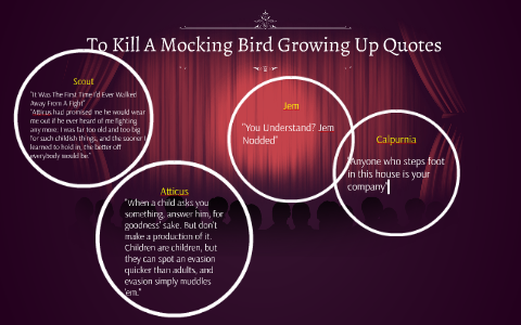 To Kill A Mocking Bird Growing Up Quotes By Will Sames On Prezi