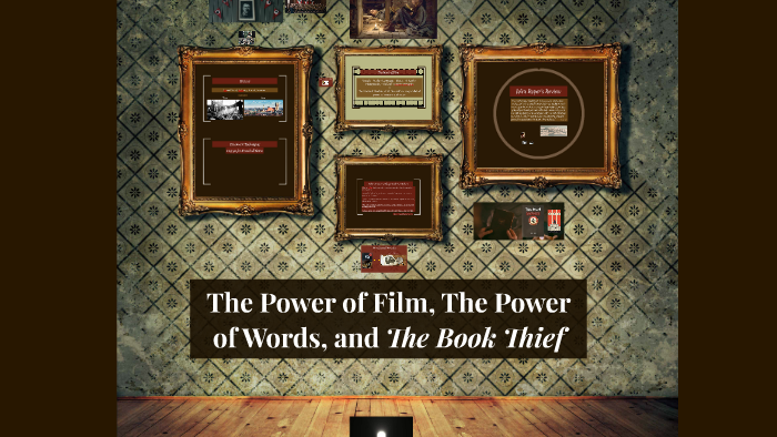 the power of words the book thief