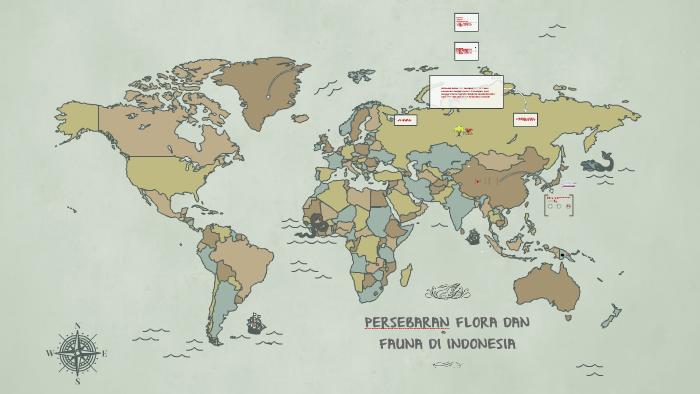Persebaran Flora Dan Fauna Di Indonesia By Septerina Fransiska