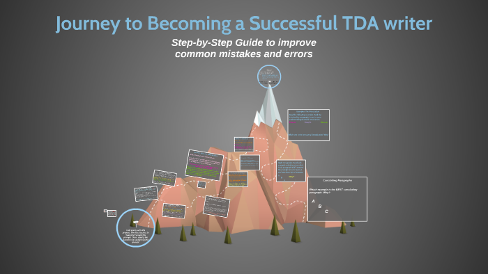 Journey to Becoming a Successful TDA writer by Rebecca