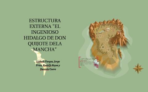 Estructura Externa Del Ingenioso Hidalgo Don Quijote Dela M