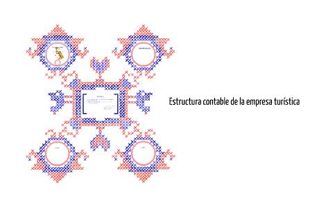 Estructura Contable De La Empresa Turística By Mariana