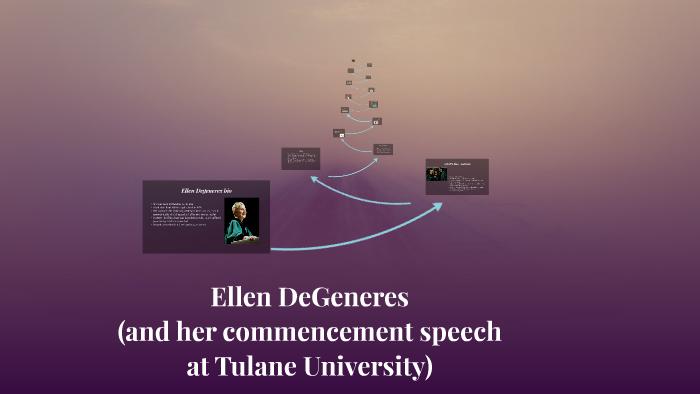 ellen degeneres commencement speech full transcript