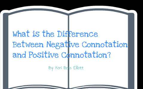 list of negative connotation words