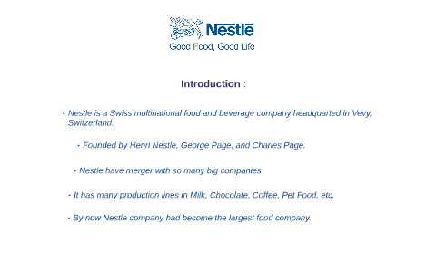 Problem Of Nestle Company by Rawabi   on Prezi