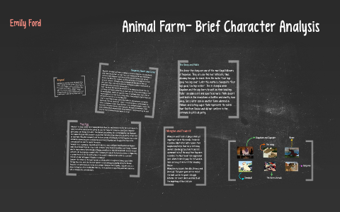 animal farm character descriptions