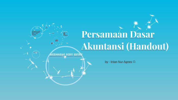 Persamaan Dasar Akuntansi Handout By Anisatul Efriana On Prezi