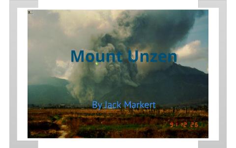 Unzen Volcano By J M On Prezi