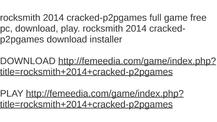 Rocksmith 2014 edition pc keygen