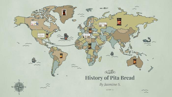 History of Pita Bread by Jasmine Seals