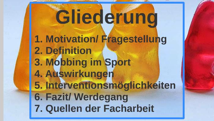 Facharbeit motivation im sport hausarbeit hunger games