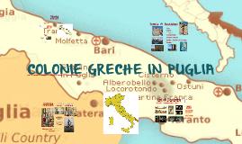 Cartina Puglia Grecia.Colonie Greche In Puglia By Noi Tre
