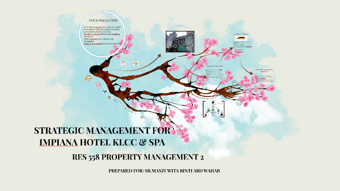 STRATEGIC MANAGEMENT FOR IMPIANA HOTEL KLCC & SPA by ariffin