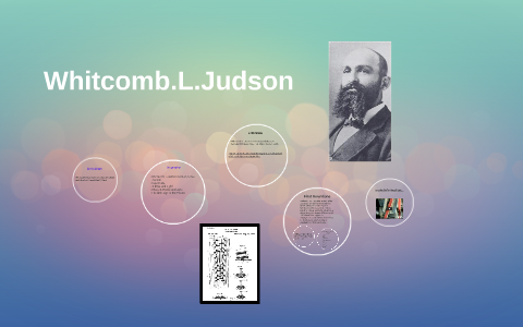 whitcomb l judson inventions