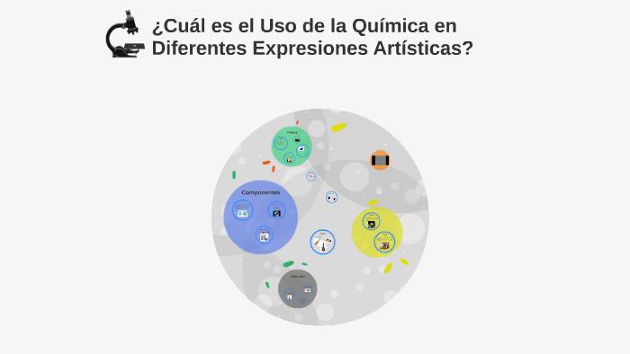 Cual es el uso de la quimica en diferentes expresiones artisticas