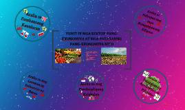 Yunit IV Mga Sektor Pang-ekonomiya at mga Patakarang Pang