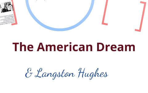 langston hughes american dream