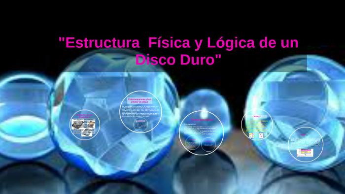 Estructura Física Y Lógica De Un Disco Duro By Ely Chena Ii
