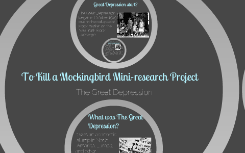 to kill a mockingbird research project