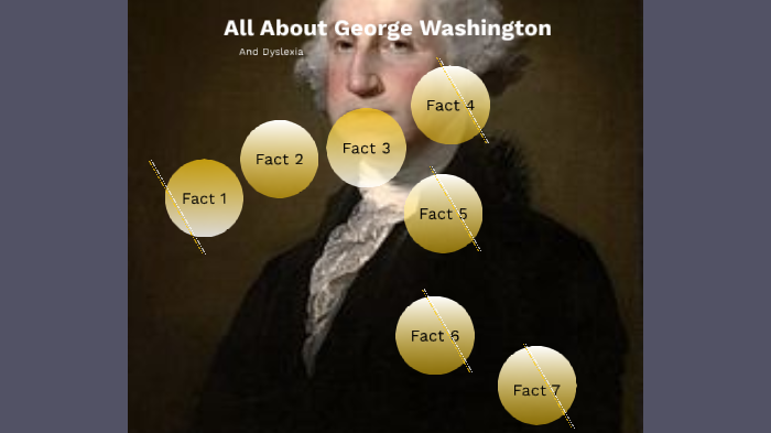 George Washington And Dyslexia By Damian Gordon On Prezi Next