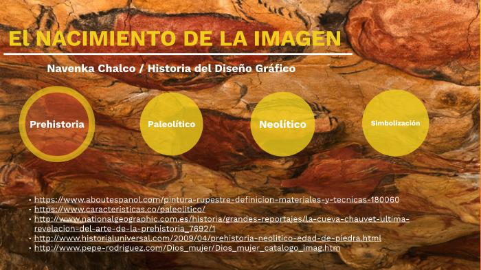 Línea de tiempo de la Prehistoria y la simbolización by